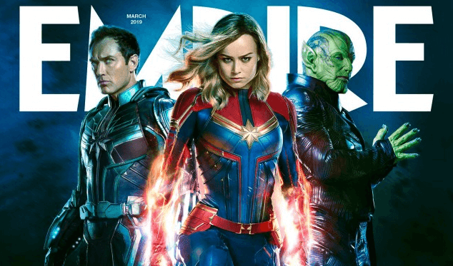 """Capitã Marvel"" bate recorde de lucros"