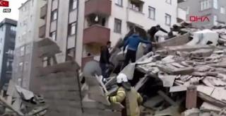 Συναγερμός στην Κωνσταντινούπολη: Κατέρρευσε οκταώροφη πολυκατοικία - Τουλάχιστον ένας νεκρός - ΕΙΚΟΝΕΣ