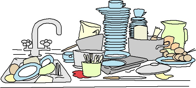 Clipart Küche All Cliparts: Washing Up Clipart Gallery1