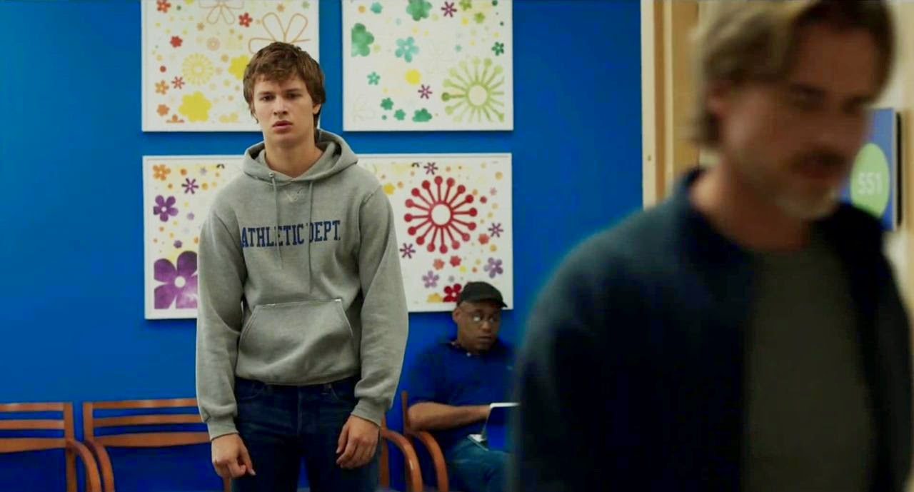 the fault in our stars ansel elgort sam trammell