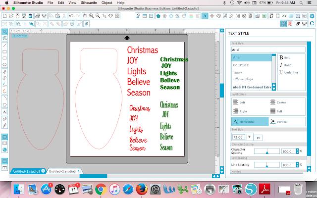 text fill shape silhouette studio