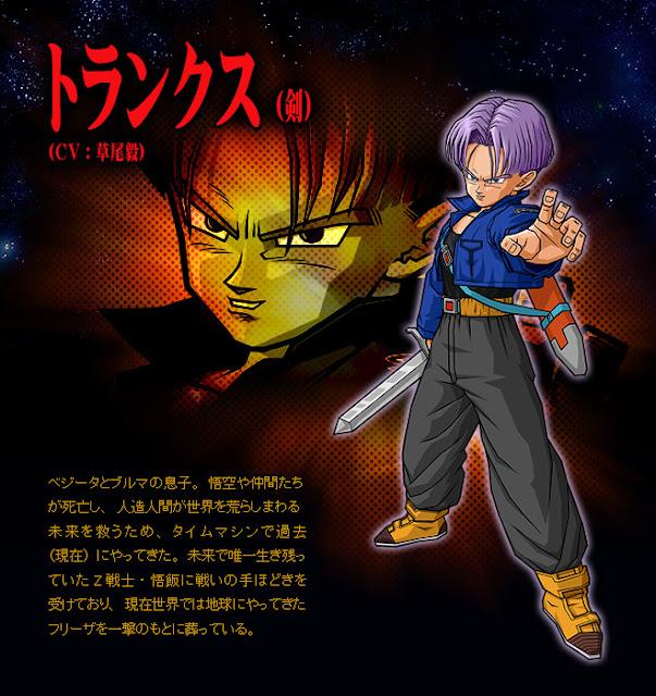 Dragon Ball Enciclopedia Trunks III