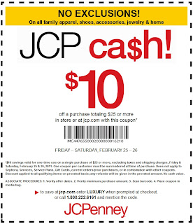 image about Yankee Candle $10 Off $25 Printable Coupon titled JCP Discount coupons SchmoobleeSaver