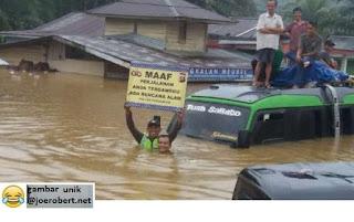 banjir tinggi