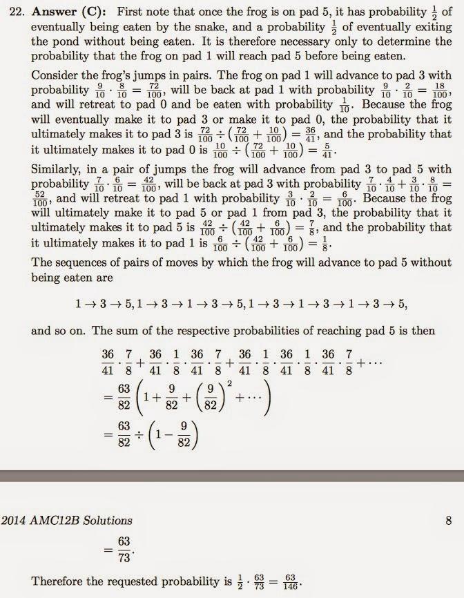 Amc Math Problems