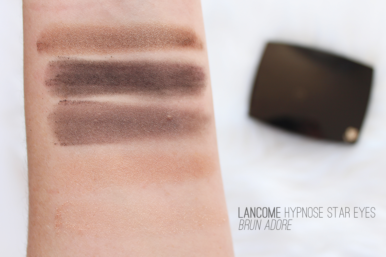 LANCOME | Hypnose Star Eyes 5 Color Palette in Brun Adore - Review + Swatches - CassandraMyee