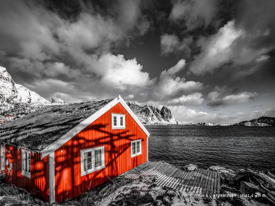 Rorbuer de las Islas Lofoten