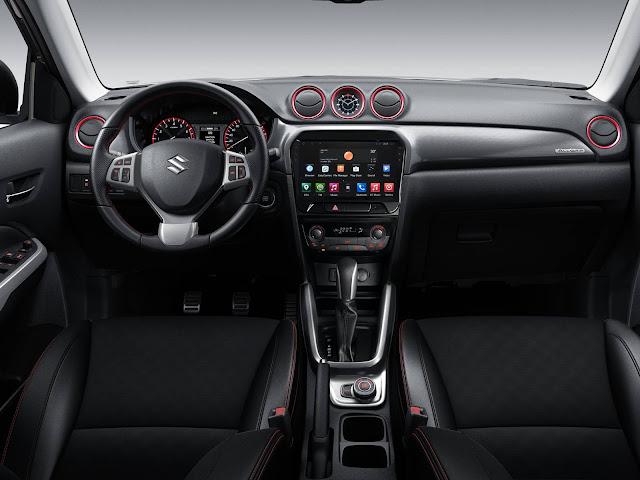 Suzuki Vitara 2017 - interior