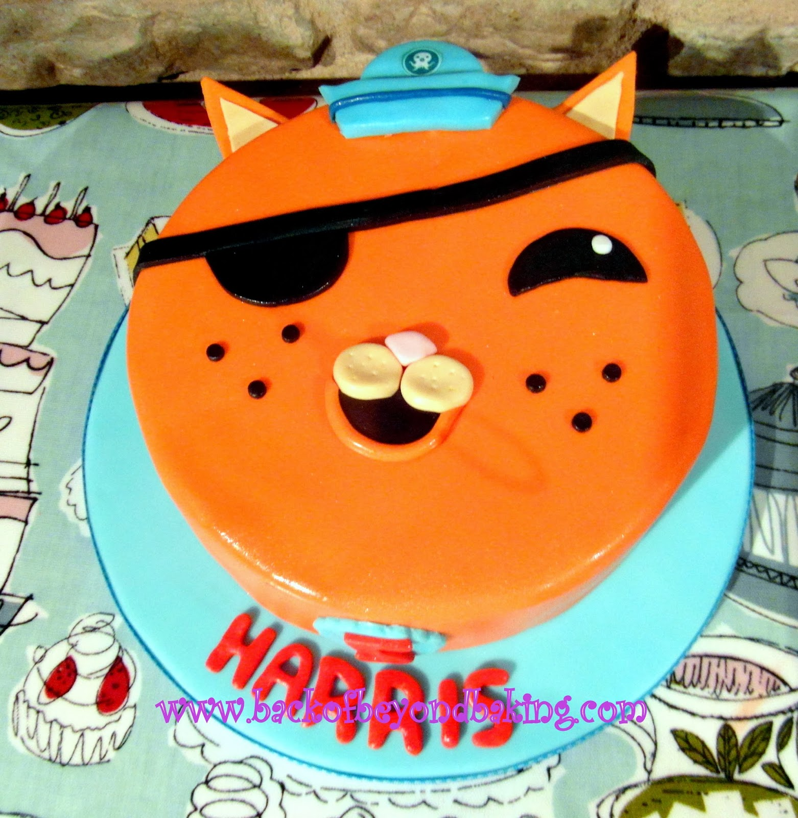 octonauts face cake