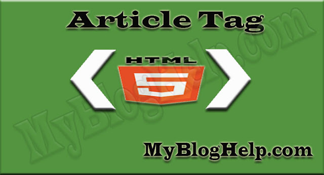 article-tag-in-html5