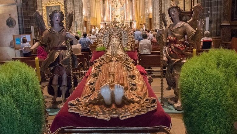 Los ángeles custodios de Binissalem restaurados