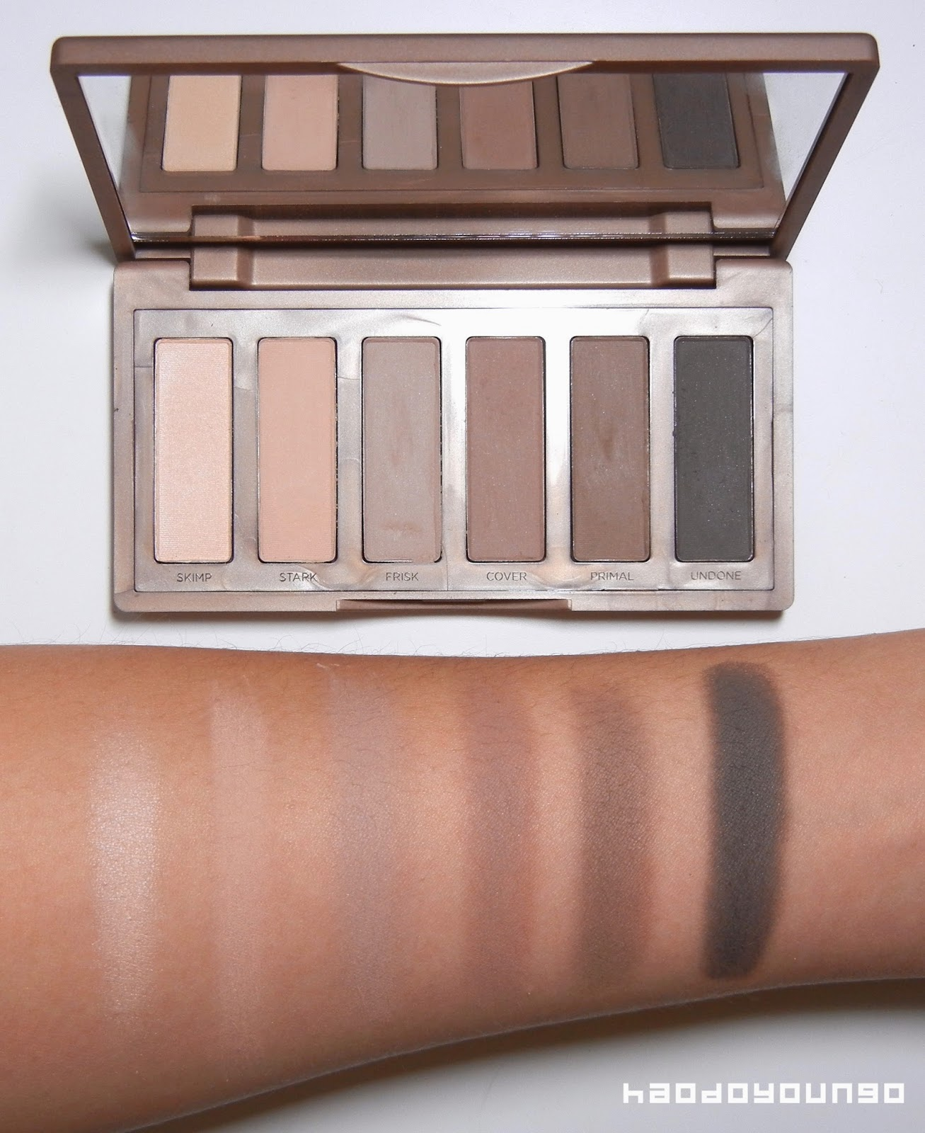 Urban Decay Naked 2 Basics Palette Review + Swatches