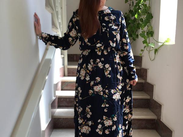 L'abito lungo primaverile