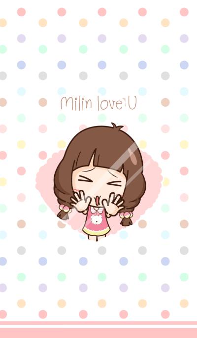 Milin in love.