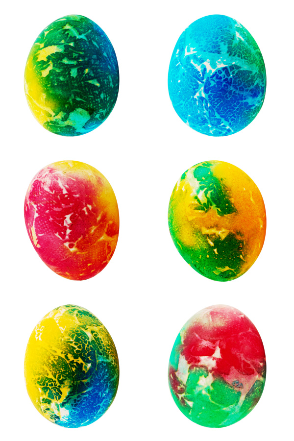 Tie-dye Easter eggs using food coloring and paper towels!  This decorating idea is great for kids of all ages, and the Easter eggs produced are absolutely stunning!  #tiedye #tiedyeeastereggs #tiedyeeggs #tiedyeeastereggsusingpapertowels #eastereggsdecorating #eastereggdecoratingfortoddlers #eastereggdyeideas #eastereggdecoratingforkids #eastereggsdiy #growingajeweledrose