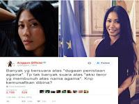 Kicauan Anggun C. Sasmi Soal Penistaan Agama ini Menarik Perhatian Netizen Hingga Jadi Viral, Apasih Isinya?