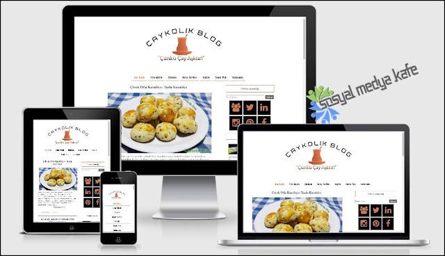 Mobil Uyumlu Blog Tasarım