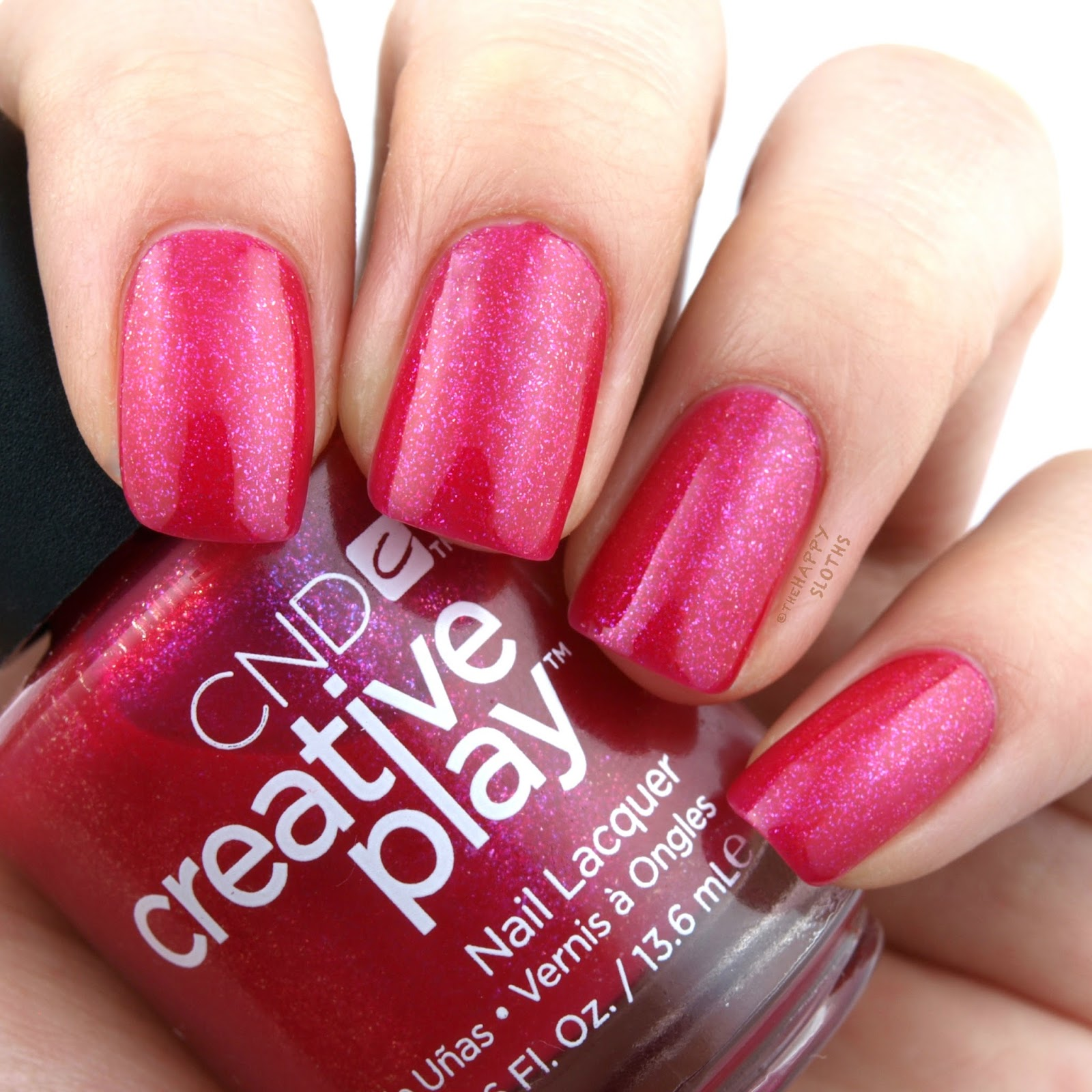 CND Creative Play Playland Collection Cherry Glo Round