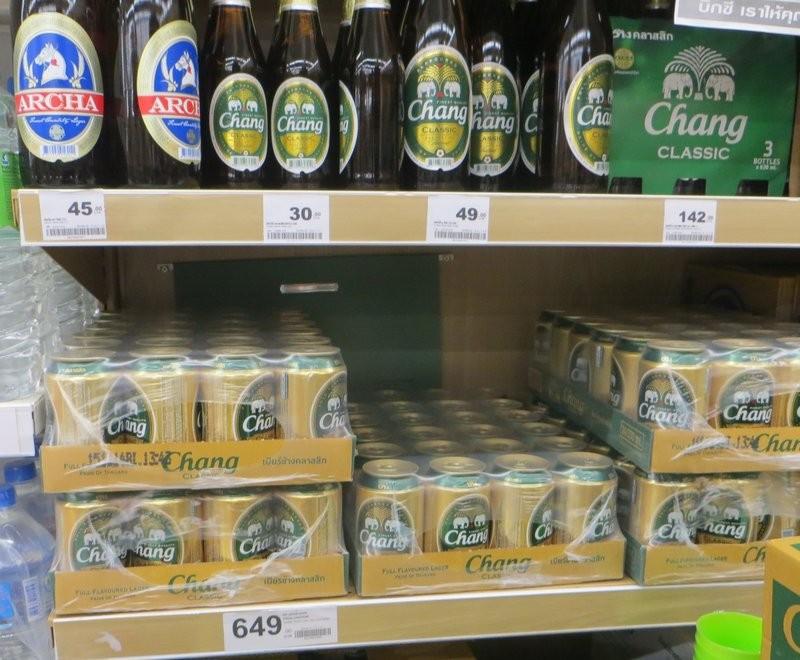 Пиво Чанг Таиланд