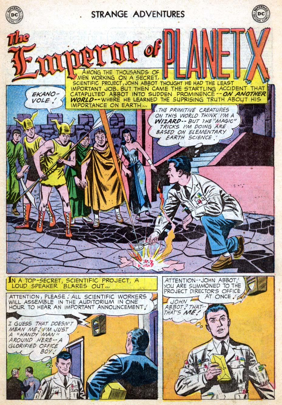Strange Adventures (1950) issue 62 - Page 11