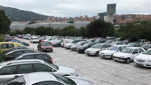 aparcamiento de Andikollano