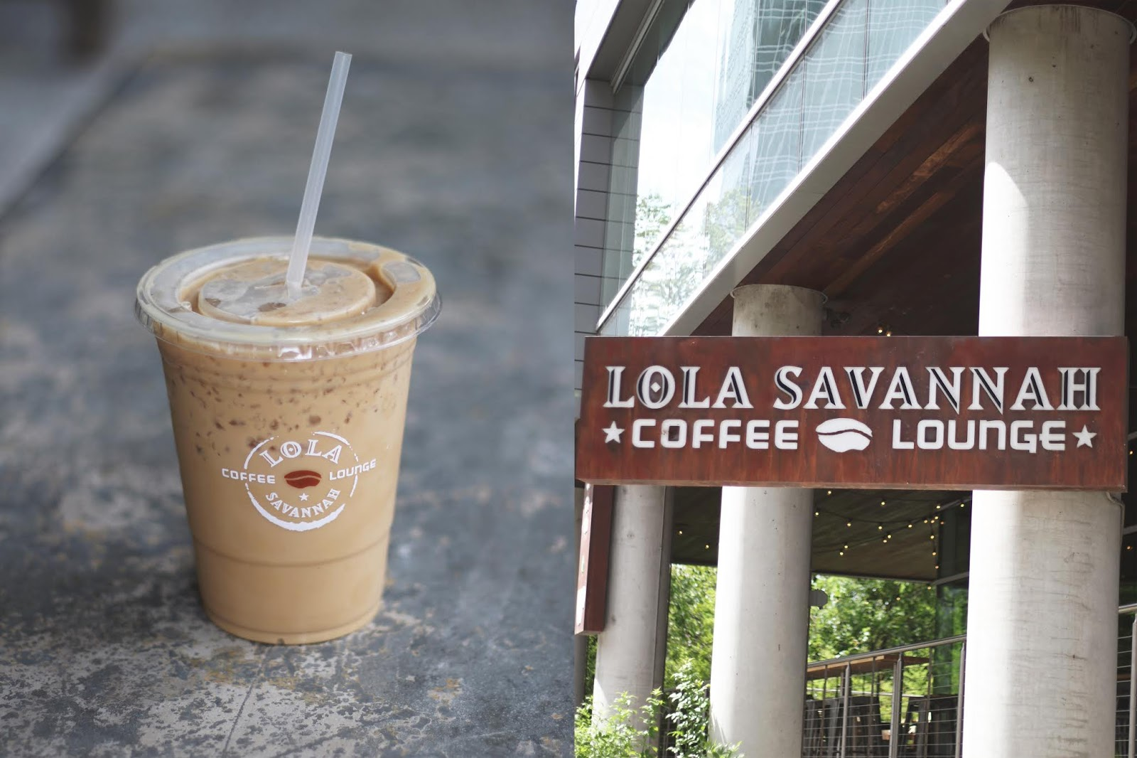 Lola Savannah Coffee Lounge Austin, Iced Coffee, Cozy Coffee Shop, Coffee Shops Vibe