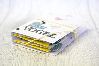 schnelles Mini aus Papiertüten #Anleitung #Bloghop