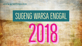 Latest images Happy New Year 2018 in Javanese