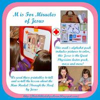 http://www.biblefunforkids.com/2014/04/preschool-alphabet-m-is-for-miracles.html