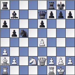 Partida de ajedrez Sanz vs. Gamonal