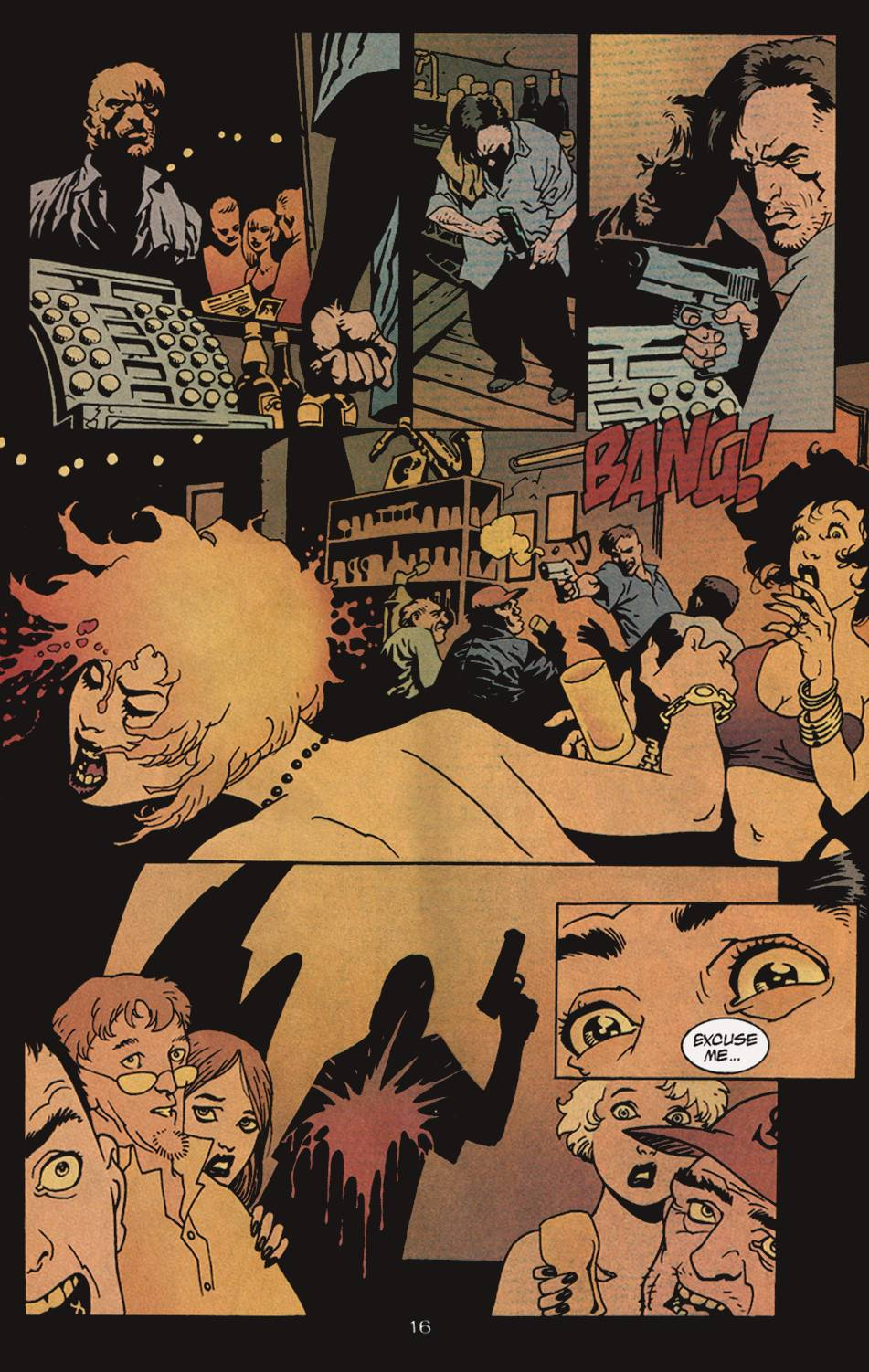 Read online 100 Bullets comic -  Issue #4 - 17