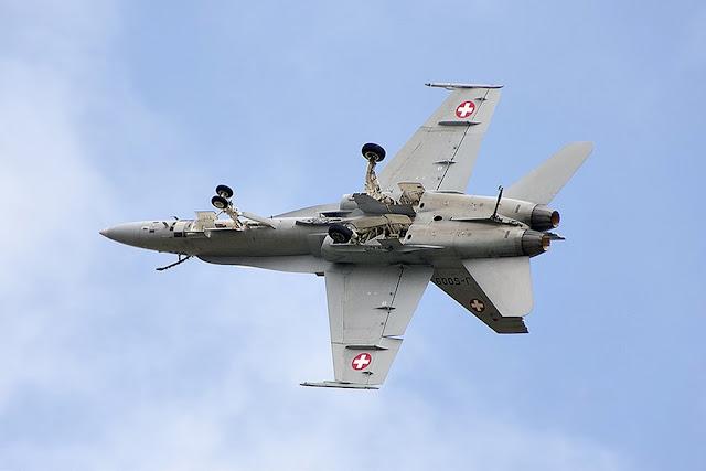 Swiss F-18 Hornet Airshow Schedule 2018