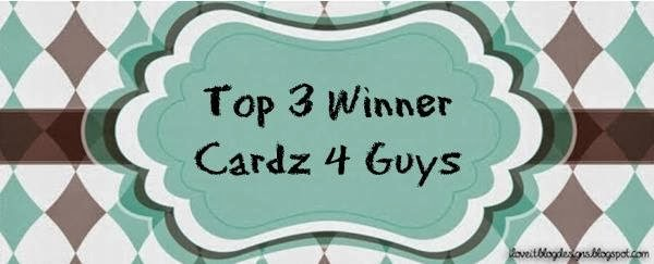 Cardz 4 Guyz  Top 3 winner