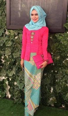 tutorial model hijab kebaya kutu baru terbaru