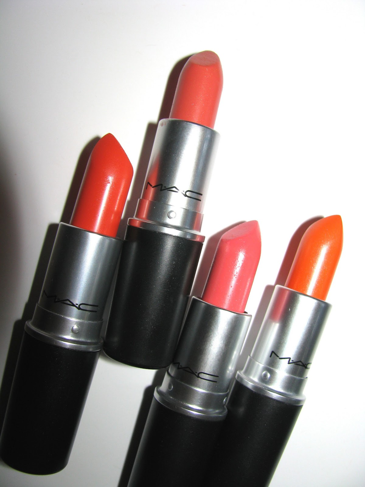 Mac All The Right Angles Makeup Collection For Spring 2016: The Beauty Alchemist: MAC All About Orange Lipsticks In