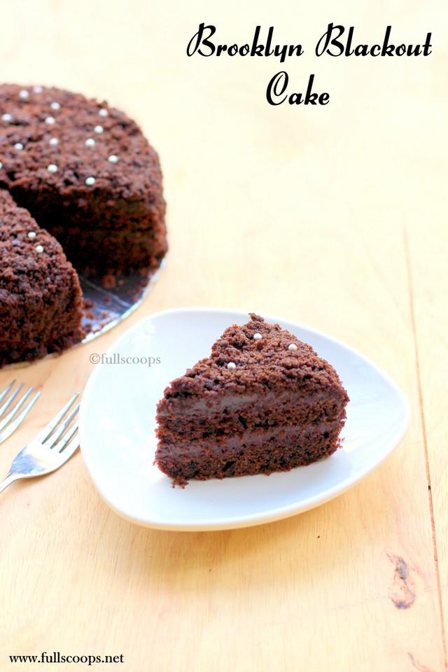 Brooklyn Blackout Cake Little Cupcake Bakeshop