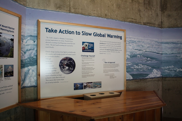 Global Warming Display at Point Defiance Zoo