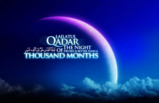 Munajat saat Malam Lailatul Qadar