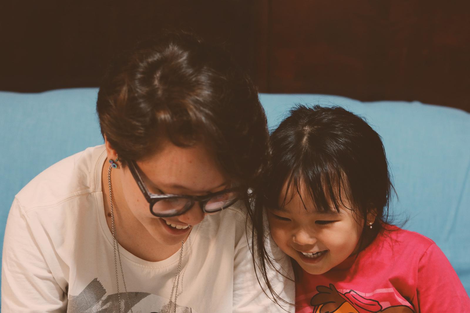 foto meninas sorrindo