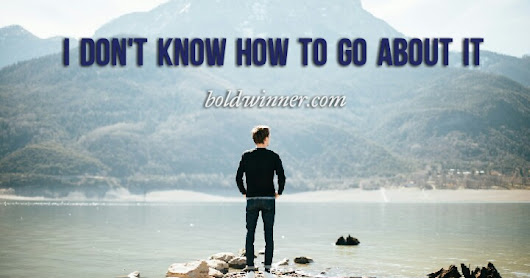 If You Ever Felt Like You Don't Know How To Go About Anything, Read This Article