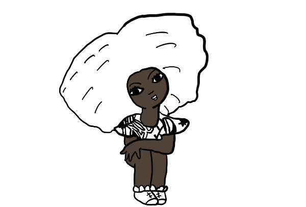 Atividade Consciência Negra Enfeitando o Black Power de Tayó