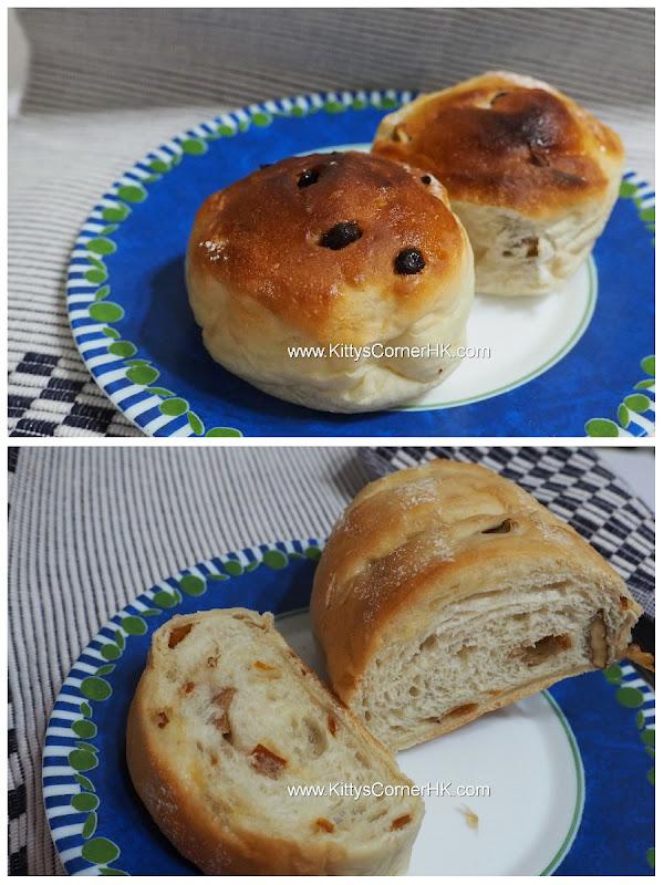 Honey Fruit Toast 蜂蜜果子軟包 自家烘焙 食譜 home baking recipes