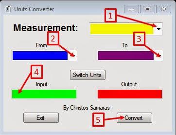 Units Converter   Freeware Program