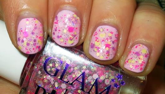 "NOTD: Glam Polish ""Princess Fairy Gru!"""