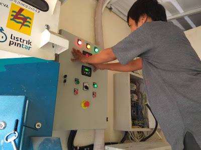 melayani pembuatan panel otomatis genset