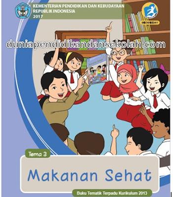 RPP Tematik Semester 1 Kelas 5 SD/ Mi Tema 3 Kurikulum 2013 Revisi 2017