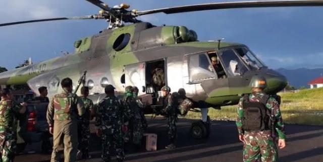 Cerita Evakuasi Jenazah Sersan Handoko, Helikopter Ditembaki KKB Papua, Kena Baling-baling, Nyaris!