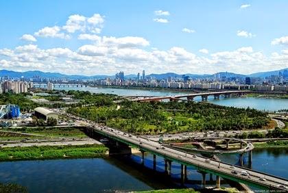 แม่น้ำฮัน (Han River) ฮันกัง (Hangang)