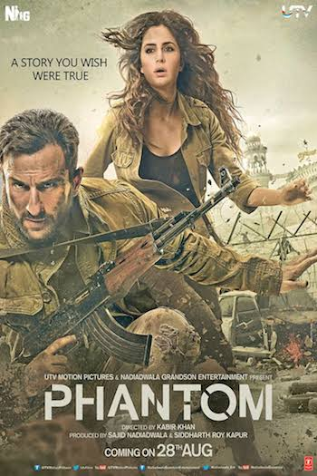 Phantom 2015 Hindi DVDRip x264 700MB ESubs