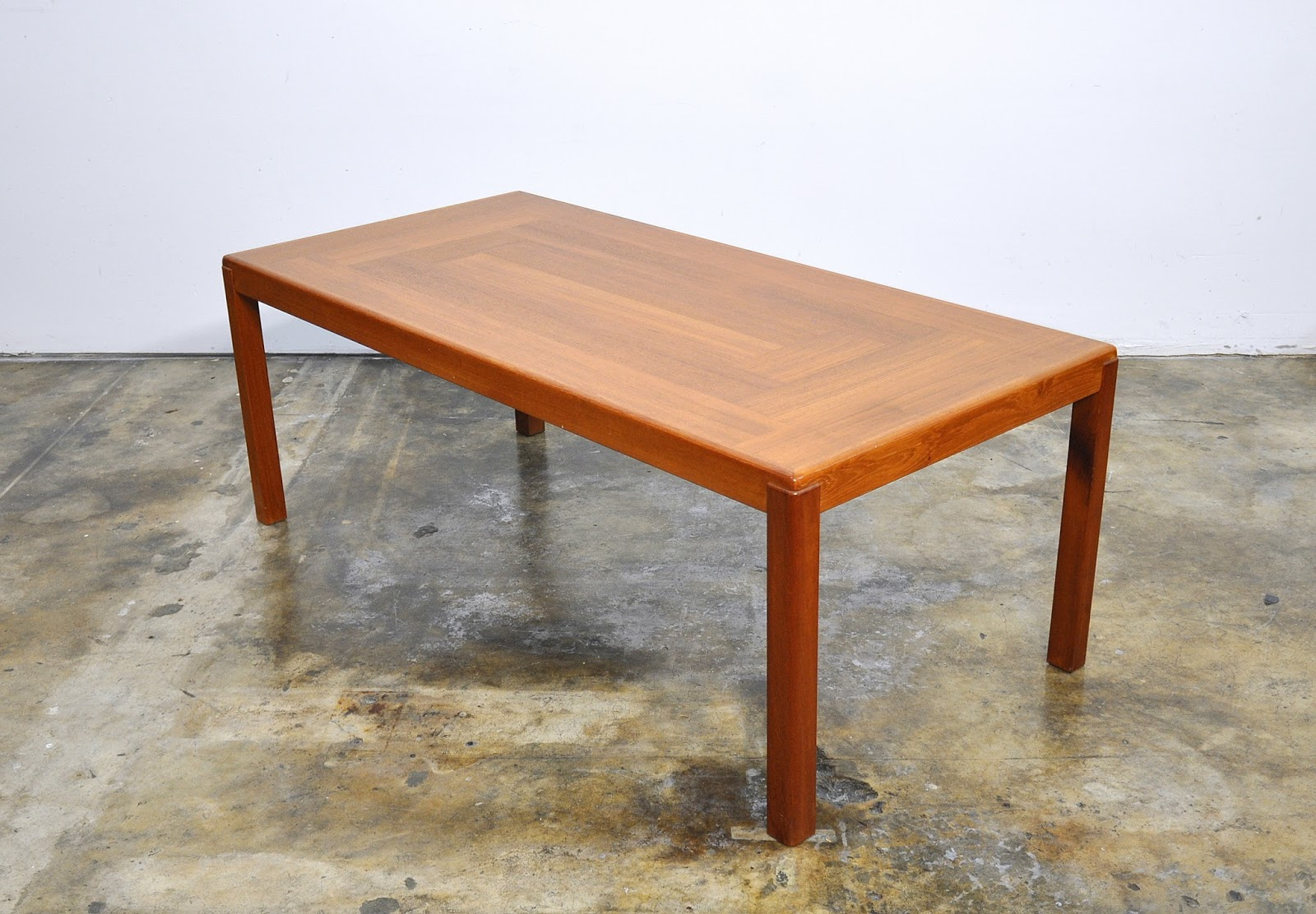 SELECT MODERN: Henning Kjaemulf Teak Coffee or Cocktail Table
